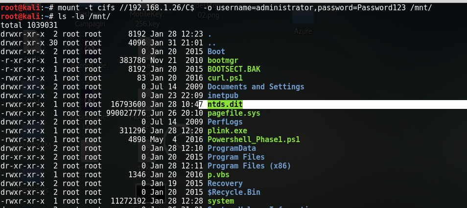 NTDS DIT Active Directory Passwords & Decryption – Welcome to